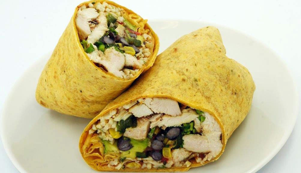 South West Chicken Wrap 2